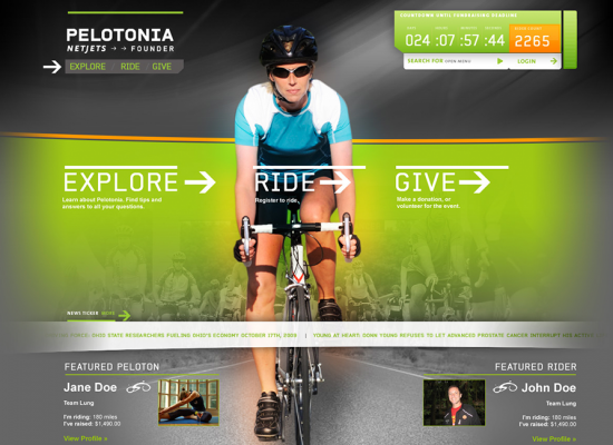 Pelotonia Bike Race