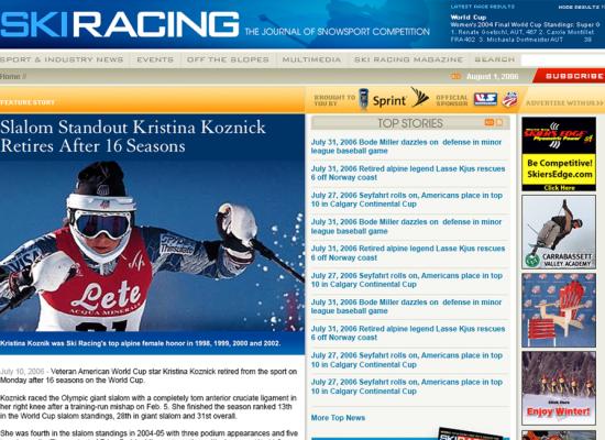 Ski Racing Magazine